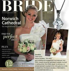 Your favorite jewellery brand on the cover of this month's Bride Magazine. 5 DAYS TO CHRISTMAS!