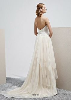 Robe de mariée dos nu Elisabetta Polignano Collezioni 2015