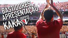 Bastidores SPFC: Apresentação de Kaká no Morumbi #TRIKOLOR (via São Paulo Futebol Clube - S.P.F.C. no Facebook)