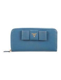 Prada Saffiano Fiocco Wallet