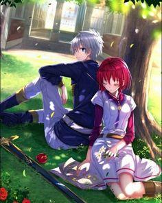 Anime Akame No Shirayuki Hime | Zen Wistalia and Shirayuki