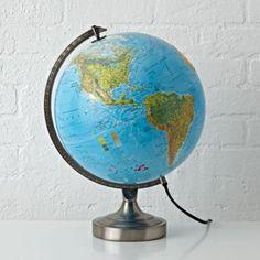 Illuminated World Lamp   The Land of Nod