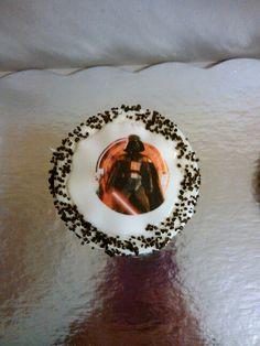 Darth Vader. Cupcakes