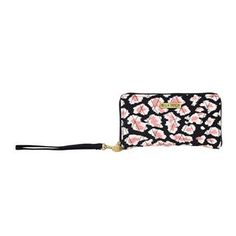 Amira Accordion Wristlet - New for Spring 2015, this slim wristlet contains a protected internal cellphone pocket, slots for cash, receipts and coins. Amira's Caviar Black, Bright White and pops of Blush Pink add a feminine twist to the timeless leopard print. Perfect for the busy on-the-go woman. Inside features 3 credit card slots and 1 cash slot. The outside features a detachable 11.5x.375