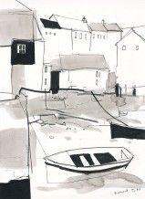 Richard Tuff - Drawing for King Charles Quay
