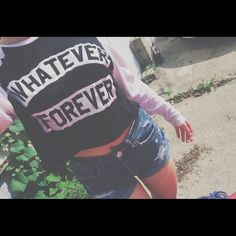 Jac Vanek crop top. baseball tee style crop top whatever forever crop top, super cute and comfy Tops Crop Tops