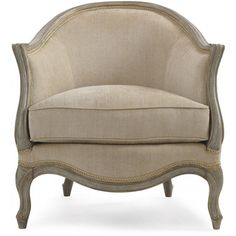 French Curves Accent Chair