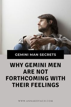 I've had some women write in to me asking me why their Gemini guys tend to not open up and tell them how they feel. Gemini men are a big high maintenance and take a whole lot of patience to work with. Here are some reasons why they may not be fessing up to you how they feel. #gemini #man #zodiac #astrology #relationship #love Love Astrology, Gemini Man, Your Man, Zodiac, Relationship, Writing, Feelings, Guys, Men