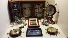 Nu in de #Catawiki veilingen: Vintage scheeps accessoires  10 delig