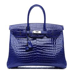 10 Reasons Hermès Bags are Totally Worth the Money ❤ liked on Polyvore featuring bags, handbags, evening bags, spot bags, blue bag, blue evening bag and holiday bags