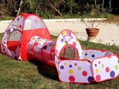 B01IES7X7C  ODOLAND 3-En-1 Kit Tente de jeu Maison tunnel Pop-Up Enchant...