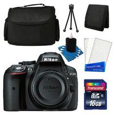 photo-video: Nikon D5300 24.2 MP Digital SLR Black Camera Body with 16GB Accessory Kit NEW #Camera - Nikon D5300 24.2 MP Digital SLR Black Camera Body with 16GB Accessory Kit NEW...