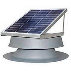 Natural Light Energy Systems 30 Watt Roof Mounted Attic Fan