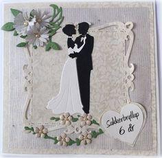Bryllupsdag 6 år, sukkerbryllup