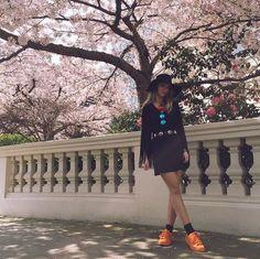 Adidas Superstar Supercolor orange trainers @ttigerlilly