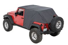 Pavement Ends™ Emergency Top in Black | Jeep Parts and Accessories | Quadratec