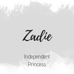 Zadie - Zadie The Effective Pictures We Offer You About baby names girl unisex A quality picture can tell - Country Baby Names, Baby Girl Names Unique, Southern Baby Names, Rare Baby Names, Unique Names, Pretty Names, Cute Names, Boy Names, Unusual Words