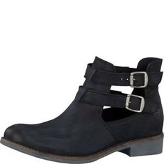 Tamaris-Schuhe-Stiefelette-BLACK-Art.:1-1-25339-32/001