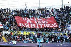 Rita - Pancarta no estádio de La Rosaleda, Málaga.