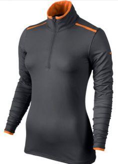 La camiseta de golf Nike Lucky Azalea Mesh Half-Zip para mujer está confeccionada con un tejido suave y cepillado que capilariza el sudor para ofrecer una sensación mullida y reducir el roce al mínimo