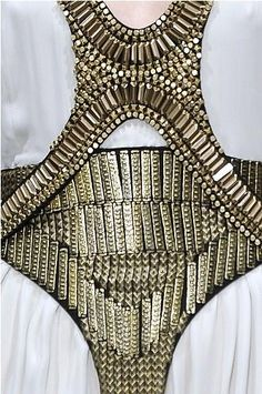 Sass and Bide: bead work
