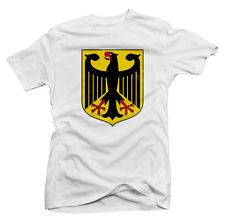 74e66968c FourEleven Men s Germany Coat of Arms Weathered Print Tee Printed Tees