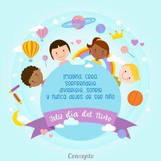Que crecer no signifique dejar de ser niños, conservemos la alegría y sueños de nuestra niñez por siempre y que a nuestros niños les apoyemos en sus sueños y no apaguemos su imaginación, feliz día del niño!!! #diadelniño #felizdiadelniño #conxepto #nuncadejemosdesoñar