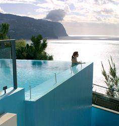 Estalagem da Ponta do Sol, Madeira. Beautiful hotel (if you're not afraid of heights) very nice staff