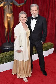 Susan Geston and Jeff Bridges attends The Annual Screen Actors Guild Awards at The Shrine Auditorium on January 29 2017 in Los Angeles California Hollywood Couples, Old Hollywood, Thunderbolt And Lightfoot, Jeff Bridges, The Big Lebowski, January 29, Los Angeles California, Auditorium, Best Actor