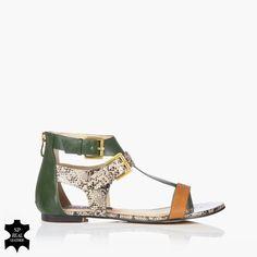 Kara-Green sandals