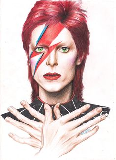 David Bowie passed away after of courageously battling cancer. Long live the legendary David Bowie! David Bowie Tribute, David Bowie Art, David Bowie Ziggy, Angela Bowie, Aladdin Sane, David Bowie Wallpaper, Duncan Jones, New York City, Wild Is The Wind