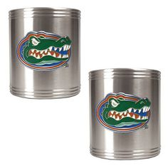 Florida Gators 2-pc. Stainless Steel Can Holder Set, Multicolor