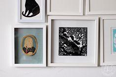 Oravanpesä | Portrait by Lili Di Prima & papercut by Papercutdiecut