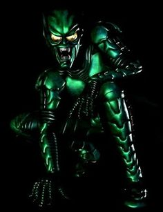 Green Goblin of the Spiderman Movie