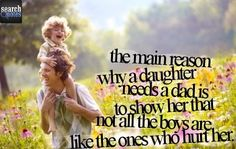 Daddy and daughter.  Love infinite.  For more quotes visit www.searchquotes.com