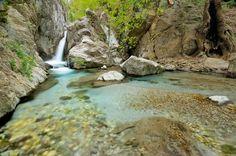 Waterfalls Taygetos, Peloponnese