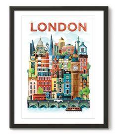 Watercolour London - Great Little Place Store - 1