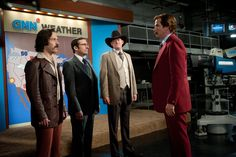 Ron Burgundy & the team are back in Anchorman 2: The Legend Continues!