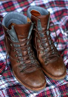 Well worn Brunello Cucinelli Hiking Boots