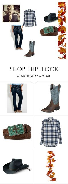 """""""Design"""" by annie-day13 on Polyvore featuring maurices, Ariat, Nocona, Nili Lotan and San Diego Hat Co."""