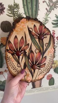 Wooden Board Crafts, Wood Log Crafts, Wood Burning Crafts, Wood Burning Patterns, Wood Burning Art, Wooden Art, Art And Craft Videos, Arts And Crafts, Wood Burning Techniques