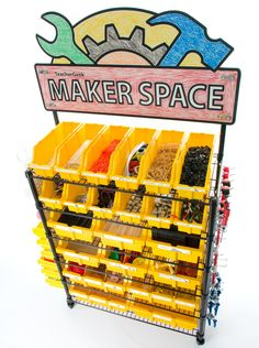 SKU: 1822-85 Roll it into your classroom, lab, or library for the ultimate Maker/STEM/STEAM solution. With over 40 STEM projects and almost every TeacherGeek component, this cart can support hundreds