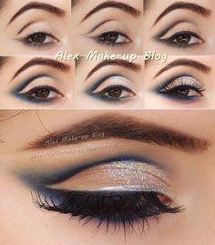 Romantic Glamour Makeup Look. Realizarea unui machiaj de petrecere pas cu pas - Alex Make-up