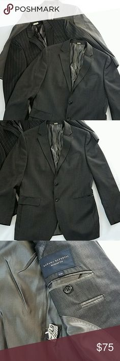 Men's 40R Banana Republic Perry Ellis Suit Jackets Men's 40R Banana Republic Perry Ellis Suit Jackets. Post is for ALL three jackets.  Smoke and pet free home. Banana Republic Suits & Blazers Sport Coats & Blazers
