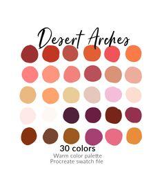 Coral Colour Palette, Orange Color Palettes, Orange Palette, Fall Color Schemes, Beach Color Schemes, Orange Color Schemes, Color Combinations, Desert Colors, Color Swatches