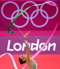Evgenia Kanaeva, Rhythmic Gymnastics, Russia - Gold Medal - London 2012 - just glorious
