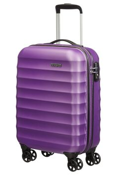 American Tourister Palm Valley Spinner 55cm Royal Purple
