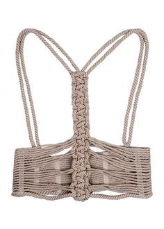 Amanda Wakeley Korusetto Rope Corset Harness Belt