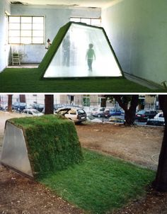 Lawn Cabins: Grass-Roofed Landscapes for Green Retreats