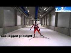 Cross-country skiing: V1 skating left Xc Ski, Nordic Skiing, Cross Country Skiing, Winter Sports, Skate, Youtube, Cottage, Exercise, Boys